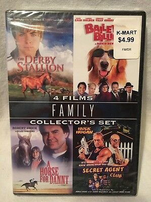 The Family Collector's Set - 4 Films: The Derby Stallion / A Horse For Danny...