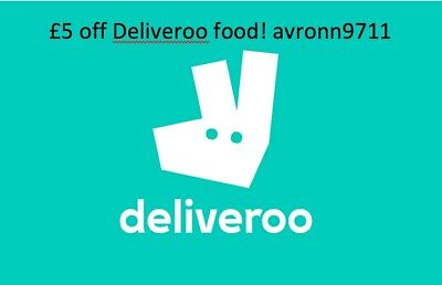 Deliveroo Promo Code for £10 off food! avronn9711
