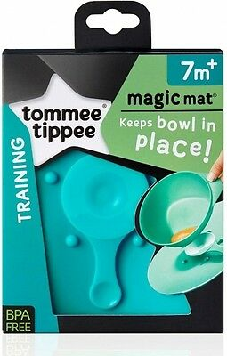 Tommee Tippee Explora Magic Mat 7m+ In Blue Suction for Baby Bowls Anti Spill