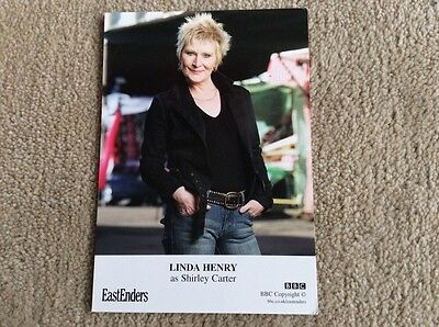 Linda Henry As Shirley Carter Bbc Eastenders Unsigned Card