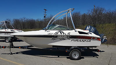 "Piranha  1810   Boat Pleasure craft   18' 10""   with  Yamaha  115 HP  Engine"