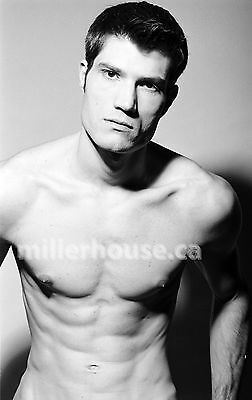 Lenox Fontaine Original B&W 35mm Film Negative Male Model Gay Interest Photo #33