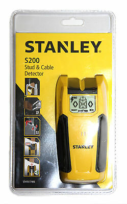 Stanley S200 DIY Stud & Cable Detector AC Finder [STHT0-77406]