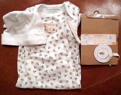 Burt's Bees Baby Organic Cotton Coverall & Hat Set,  Unisex 3-6 Months