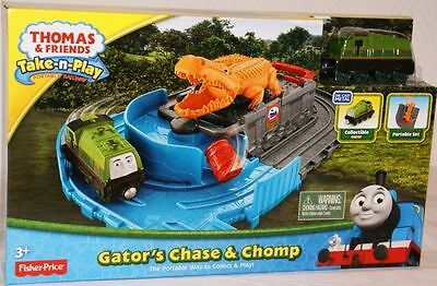 Thomas And Friends Gator's Chase & Chomp - Fisher Price - New