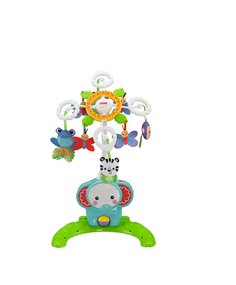 Fisher-Price 4in1 Tierfreunde Mobile Baby Musikmobile Musik Babymobile Spieluhr