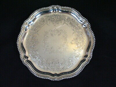 Webster Wilcox Is International Silver Co Staffordshire 44700 Tray