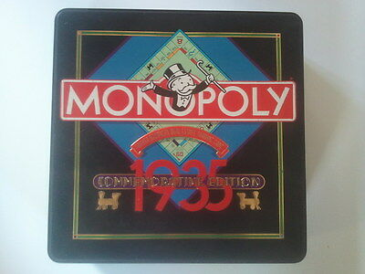 MONOPOLY 1935 COMMEMORATIVE EDITION - Board Game - Complete - Parker Brothers