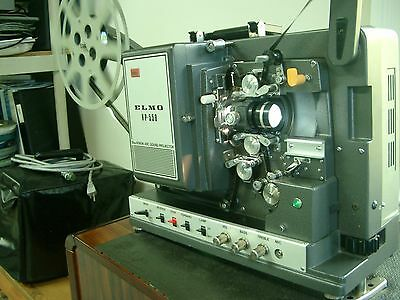 ELMO XP 550 16mm XENON MAG/OPT PROJECTOR COMPLETE (SERVICED & GUARANTEED)