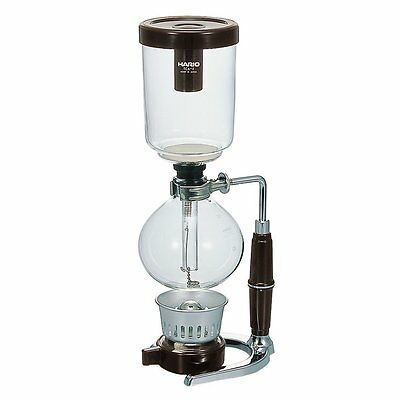 """Hario TCA-5EX """"Technica"""" 5-Cup Coffee Syphon With 600 ML Capacity, New"""