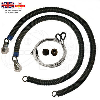 "Garador Mk3C PN57/1 36"" Garage Door Springs Repair Kit Cables Pulley PN441 Box"