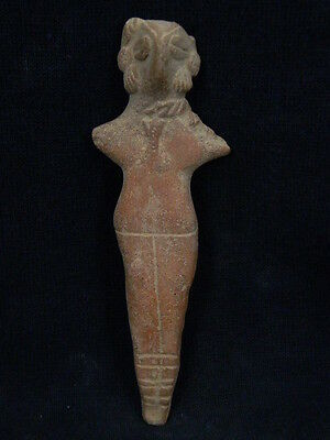 Ancient Large Size Teracotta Mother Goddess Indus Valley 600 BC #TR909