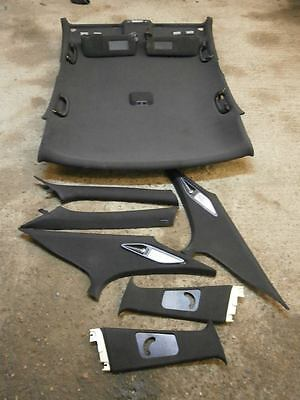 Bmw E39 5 Series M Sport Black Roof Lining Complete Kit Saloon