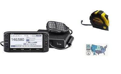 ICOM ID-5100A-DELUXE DUALBAND Mobile w/ D-STAR with FREE Radiowavz Antenna  Tape!