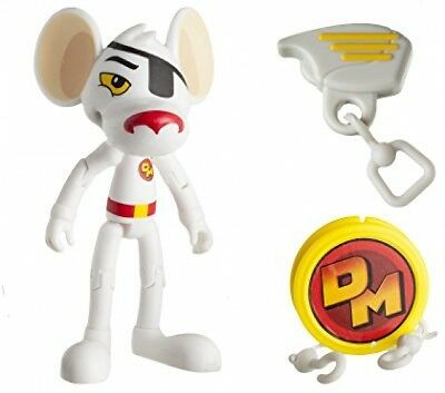 Danger Mouse 11161 3-Inch Danger Mouse Figure With Zipline Accessory