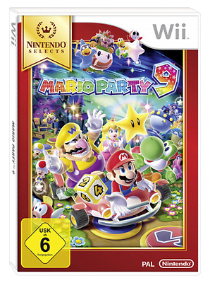 Nintendo Wii Mario Party 9 Selects New