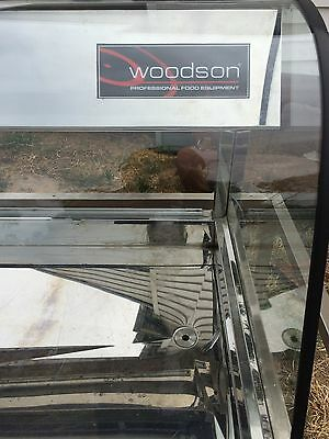 Woodson WCFC25 commercial cold food display fridge