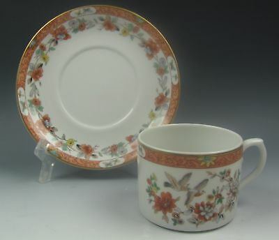 Mottahedeh China MAGNOLIA AND BIRDS Cup and Saucer Set(s) EXCELLENT