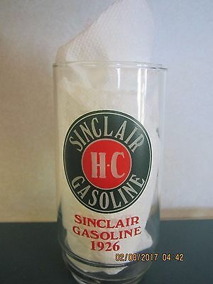 SINCLAIR 1926 & 1916 Gasoline Drinking Glasses