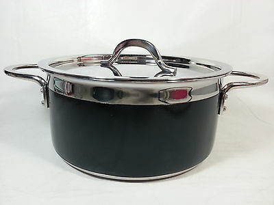 Bon Chef Stainless Steel/Aluminum Classic Country French Collection Pot w/ Cover