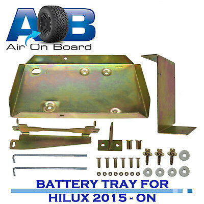 Aob Dual Battery Tray Fits New Hilux 126 Series 2.8 Turbo Diesel 09/15 On