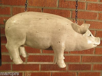 """PIG"" Replacement Sign by K & K Interiors - 3-D Resin Sign for Arrow Holders"