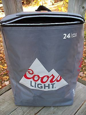 COORS LIGHT GAMES Cooler BEER Soda BACKPACK 24 Cans Knapsack BAG Insulated NEW!!