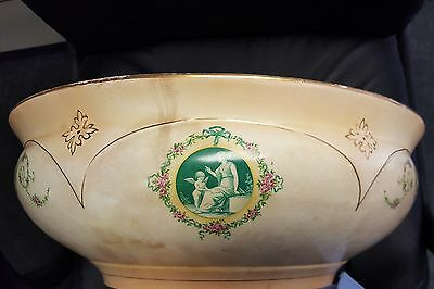 S. F. & Co. Stoke On Trent Crown Devon Wash Basin