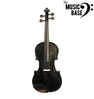 Stentor 1/2 Size Violin Outfit Black Harlequin Series