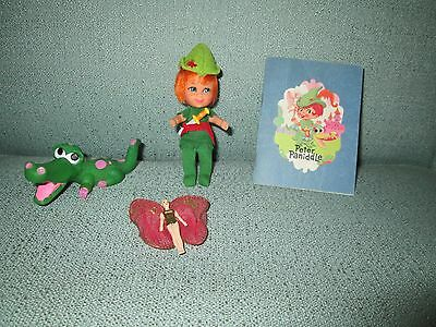 Vintage Liddle Kiddles Storybook Peter Pan Paniddle Doll Sword Little Story Book