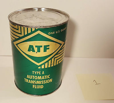 Vintage Double Eagle ATF Automatic Transmission Fluid Can UNOPENED FULL - #1