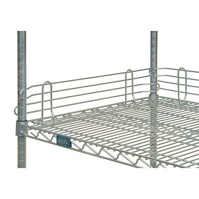 "Ledge for Wire Shelves, 54""L X 4""H"