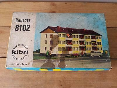 Vintage Unused KIBRI Bausatz 8102 Residential Apartment Block Model - HO Scale