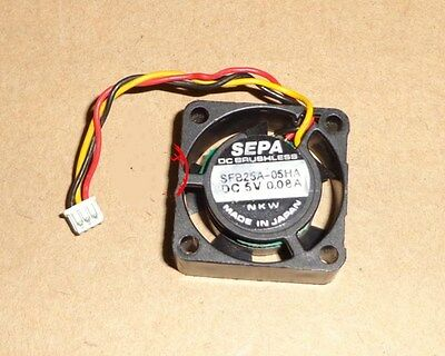 1pcs SFB25A-05HA Fan SEPA 2510 5V 0.08A 2.5CM