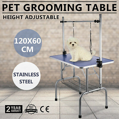 120cm Foldable Dog Cat Pet Grooming Table Pet Washing detachable w/Noose POPULAR