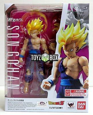 "In STOCK S.H. Figuarts ""Super Saiyan Son Gohan 2"" Dragonball Z Action Figure"