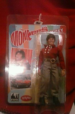 """NEW Rhino The Monkees Micky 8"""" ACTION FIGURE"""