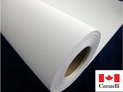 """24"""" x 30m 260gsm Polyester Blank Canvas For EPSON/HP Wide Format Plotter"""