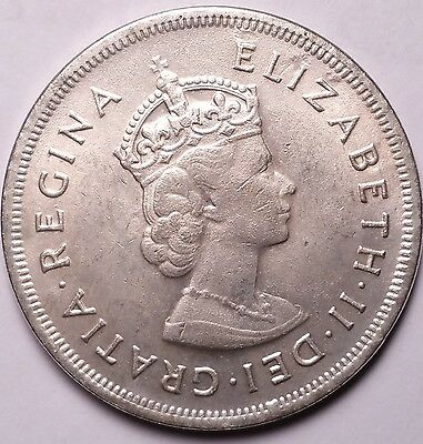 Bermuda 1959 Crown...worldwide Coin