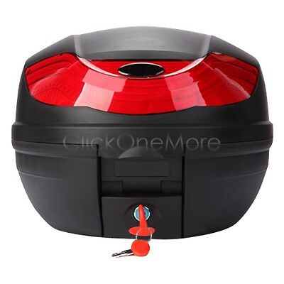 Free Pick Up 32L Motorcycle Scooter Topbox Rear Storage Luggage Top Tail Box