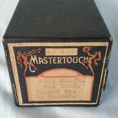 Pianola Piano Roll Slow Coach - Foxtrot - MASTERTOUCH AD 4648 - 034