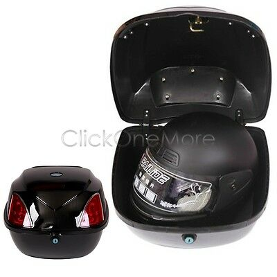 32L Motorcycle Scooter Topbox Rear Storage Luggage Top Tail Box Free Pick Up
