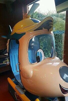 coin operated BUDGIE THE HELICOPTER. Collection only