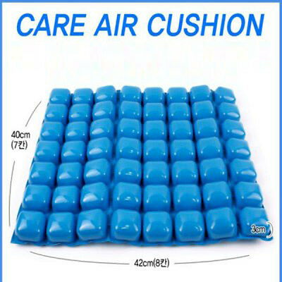 Caremate Air Water Inflatable Wheelchair Cushion Pad Medical Prevent Bedsore Off