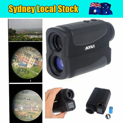 AU! Golf Laser Rangefinder Hunting Sports Range Finder Scope 700m/yard Binocular