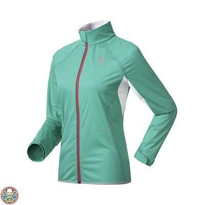 Odlo Tg: Xs Verde Giacca Donna Muscle Nuovo