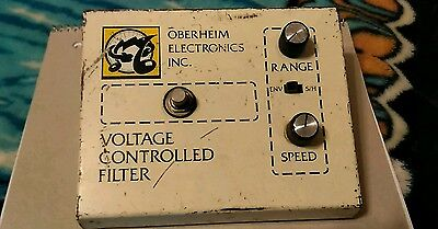 Oberheim VCF-200 Voltage Controlled Filter Vintage Pedal