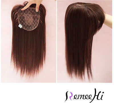 Synthetic Hair Topper Long Hairpiece hair bangTop Piece For Women 35cm