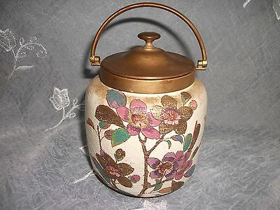 Doulton Slater Biscuit Or Sweet Jar Circa 1890