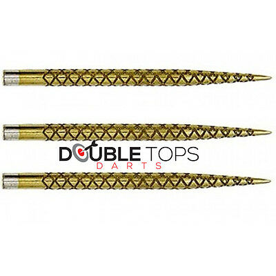 Target Darts Gold Diamond Pro Points - 32mm and 38mm
